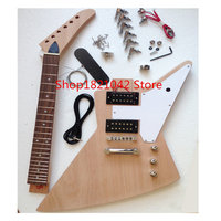 Explorer electric guitar semi finished products made in giessen DIY design manual guitar neck
