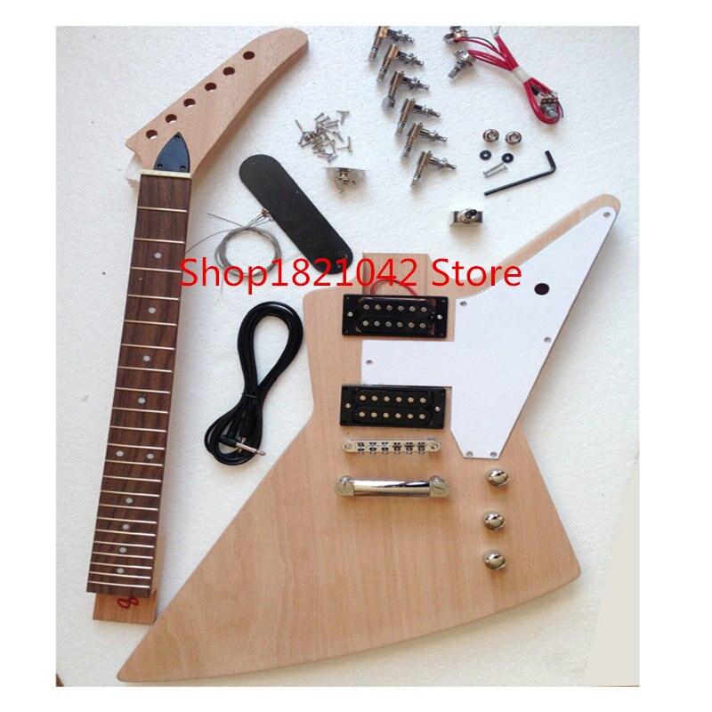 Проводник электрогитара полуфабрикаты, изготовленные в гиссен дизайн DIY ручной гитара шеи
