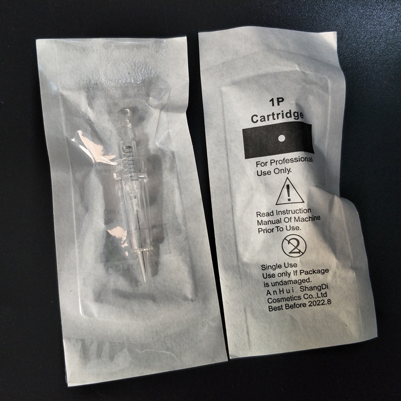10PCS 1P/3P/5P/7P/3FP/5FP/7FP Disposable Cartridge Tattoo Eyebrow Needles Permanent Makeup Machine Pen Cartridges Needle