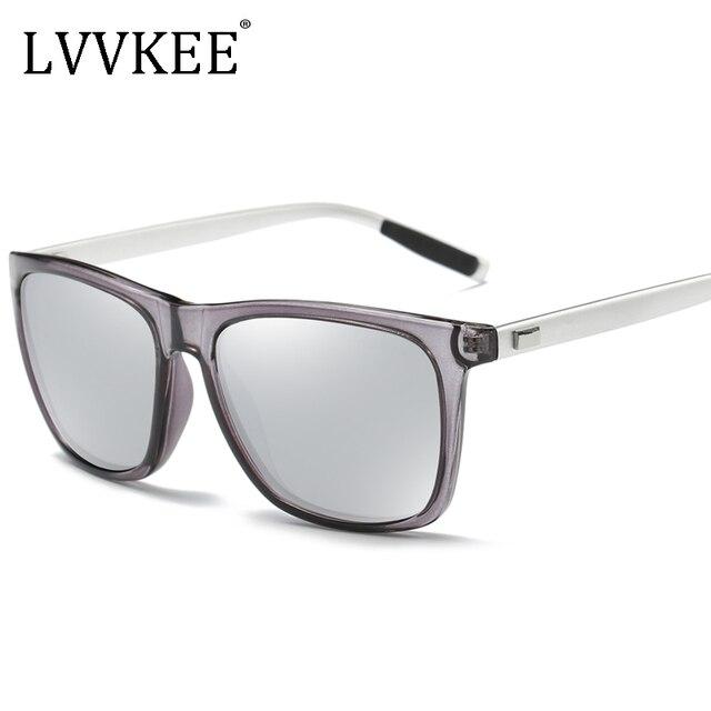 2017 NEW Lvvkee brand new мужская провода кадр поляризованных солнцезащитных очков вождения женщин солнцезащитные очки дизайн моды оригинальный чехол