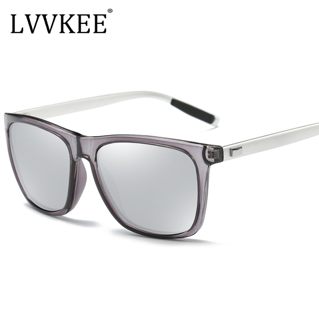 2017 NEW Lvvkee brand new men's wire-frame polarized sunglasses driving  women's sunglasses fashion design original case
