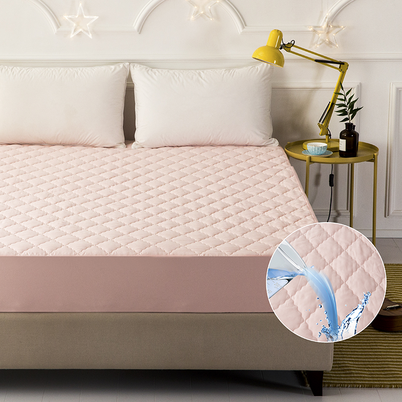 LAGMTA 100% polyester waterproof mattress cover With elastic band fitted sheet Multiple specifications