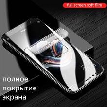 8D Full Cover Hydrogel Film For Xiaomi 9 8 Lite Mix 3 Max Note PocoPhone F1 Screen Protector Redmi 7 6 5 Pro