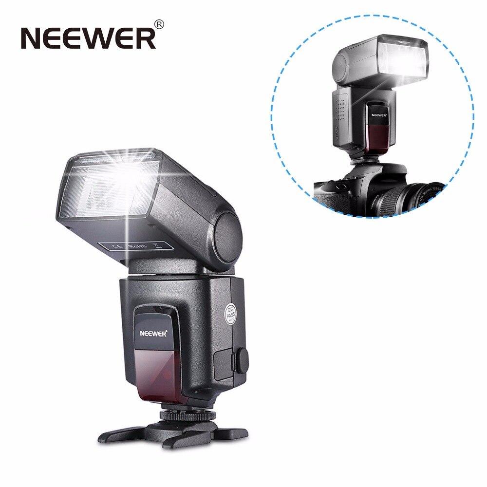 Tüketici Elektroniği'ten Flaşlar'de Neewer TT560 Flaş Speedlite Canon Nikon Panasonic Olympus Pentax ve Diğer DSLR Dijital Fotoğraf makinesi w/Standart Sıcak Ayakkabı