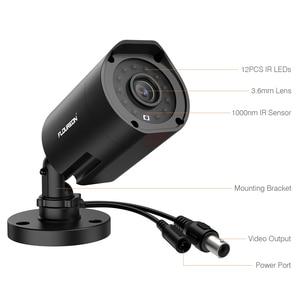Image 4 - FLOUREON 1080P HD 3000TVL חיצוני אבטחת מערכת מצלמה 2MP 940nm ראיית לילה CCTV מעקב PAL Bullet מצלמה עבור AHD DVR