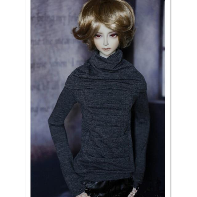 1/3 1/4 BJD Куклы Одежда Набор Серый Рубашки Куклы Аксессуары, Новый Дизайн Эластичность Топы BJD Одежда для Кукол