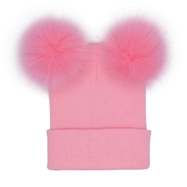 Caps hat female turban beanie black hats female pom pom beanie women winter pompon beanie women's hat Head wear new DC4B