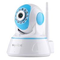 Sannce ip كامل hd 1080 وعاء كاميرا مصغرة الأمن كاميرا مراقبة ip كاميرا لاسلكية wifi للرؤية الليلية cctv كاميرا الطفل رصد