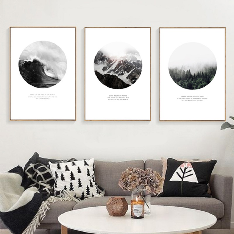 Room, Nordic, Abstract, Decor, Home, Posters
