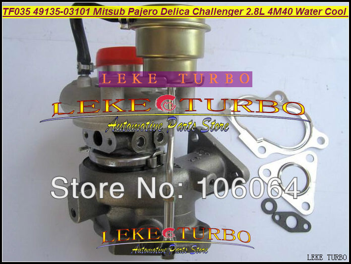 Water Cooled Turbo TF035HM-12T 49135-03101 49135 03101 4913503101 Turbocharger For Mitsubishi PAJERO Delica Challenger 4M40 2.8L  цены