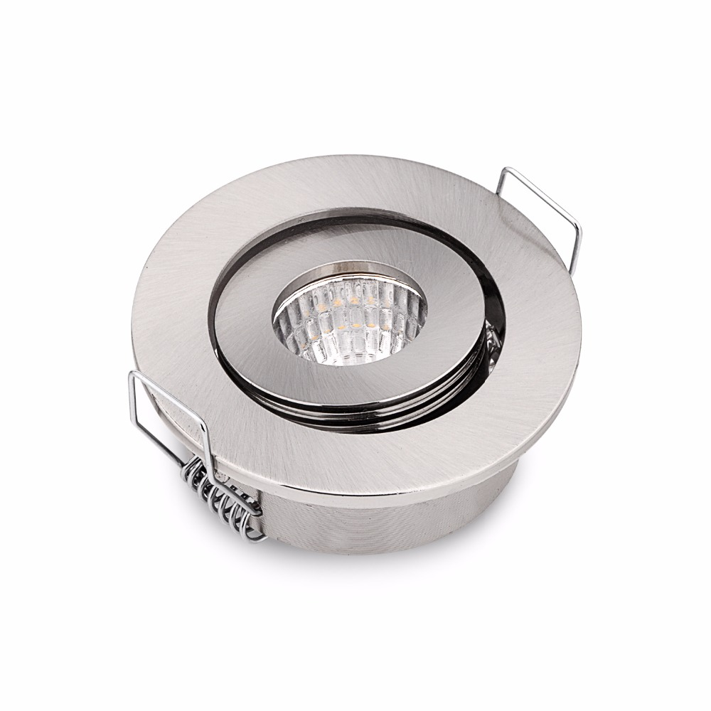 10PCS 50cm 2 inch 3W LED Ceiling Spot Lights Recessed COB Mini LED Downlights DC12/24V Indoor Cabinet Lamp