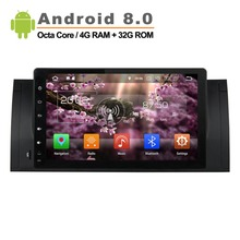 9 inch Android 8 0 Car Radio for BMW E39 E53 X5 with Mirror Link No