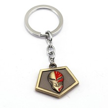 BLEACH Keychain Character Kurosaki Mask Logo Pendant Key Chain Ring Holder (12 styles)