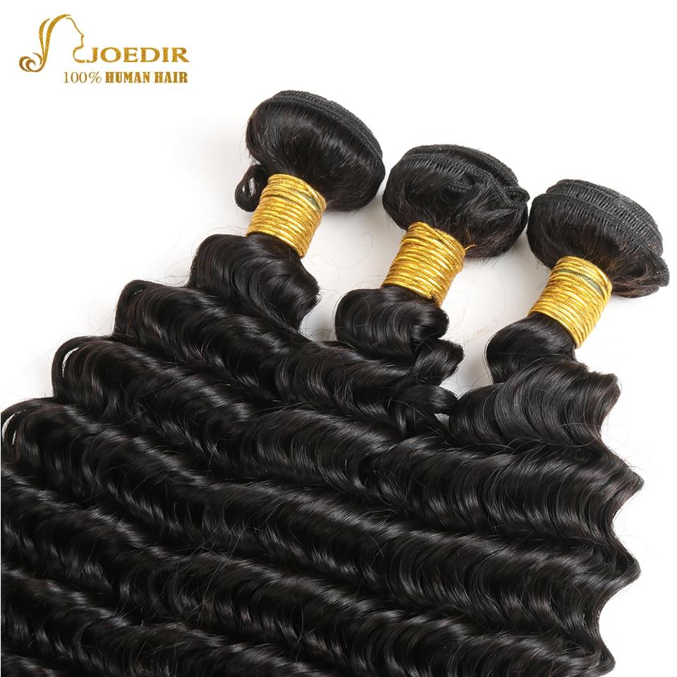 Joedir Hair Deep Wave 360 Snörning Frontal Closure With - Skönhet och hälsa - Foto 3