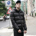 VIISHOW Man's Winter Down Jacket Casual Light Warm Jacket Men White Duck Down Men Solid Men's Winter Coat Size M-XXL