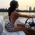 Alta qualidade marrom com decote em v de cristal brilhante bandage vestidos celebridade kim kardashian sexy dress