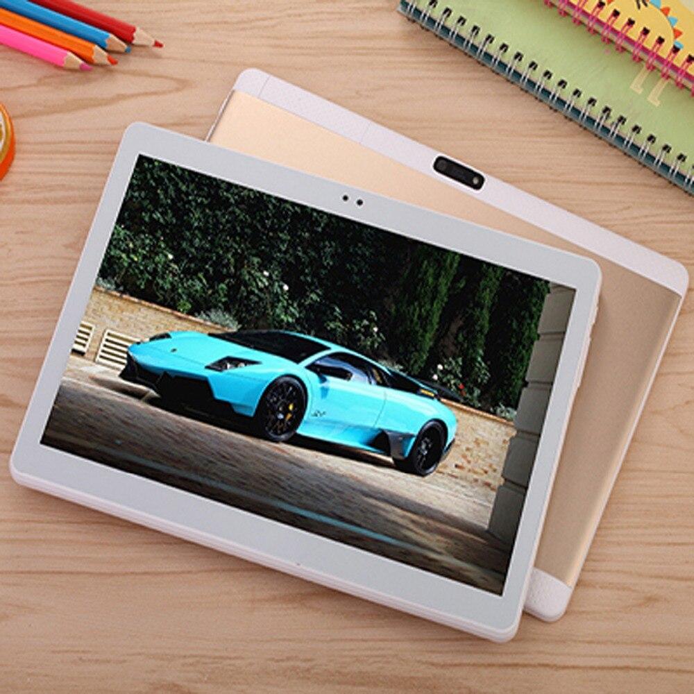 10.1 pouces tablette PC Android 7.0 Octa Core 4 GB RAM 32G ROM WIFI GPS 7 8 9 double carte sim téléphone appel tablettes Pc 1920*1200