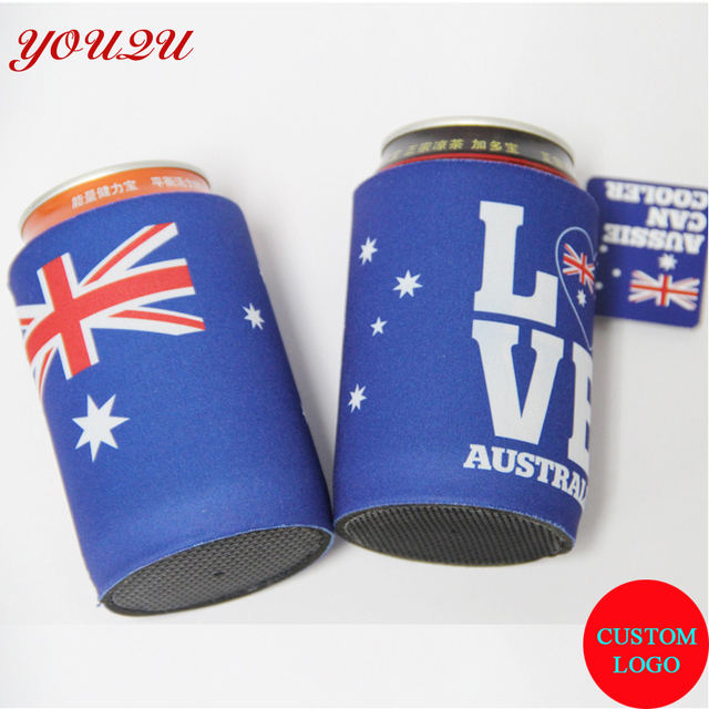 US $581 0 |5MM thickness Neoprene Stubby holders Customized LOGO Printed  Personalized Beer Can Cooler cheapest price escrow accepted-in Cooler Bags