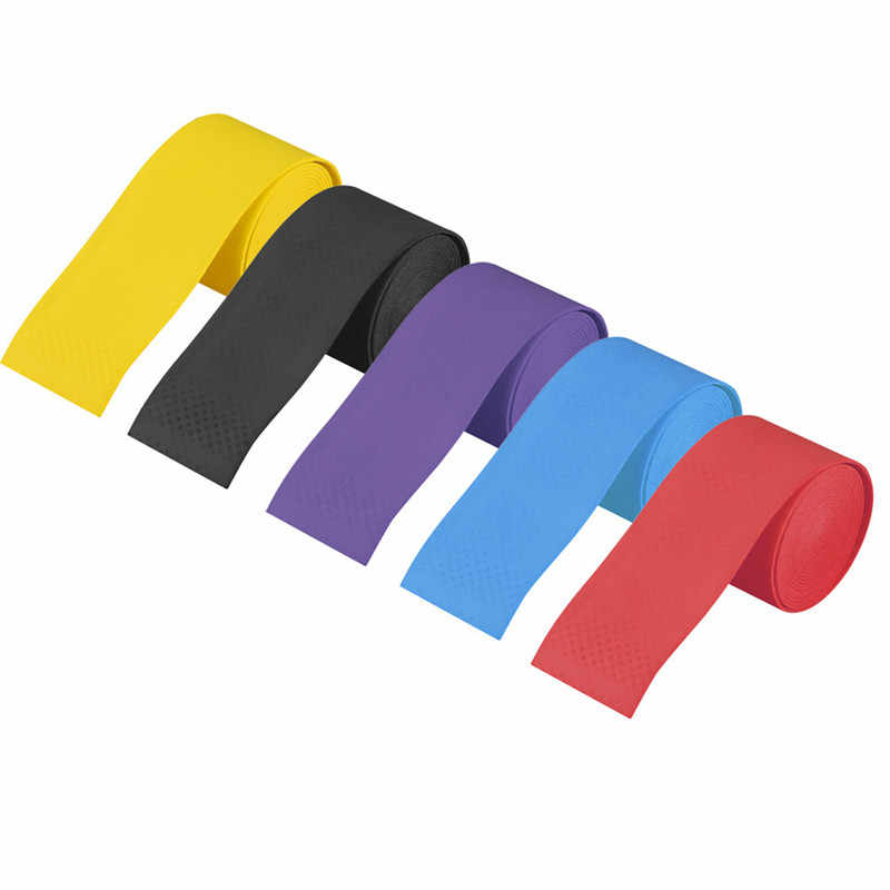 2Pcs Lot Stretchy Anti Slip Racket Over Grip Roll Cover Strap Tennis Badminton Handle Grip Tape Sweat Protect 2019 Sale #10