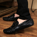 New Summer Causal Shoes Men Loafers High quality PU Leather Men's Driving Shoes size 36-44 New Brand Man Flats