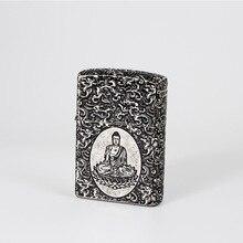Lighters and Smoking Accessories,Xiangyun Buddha metal kerosene lighters,Boutique gift lighters.