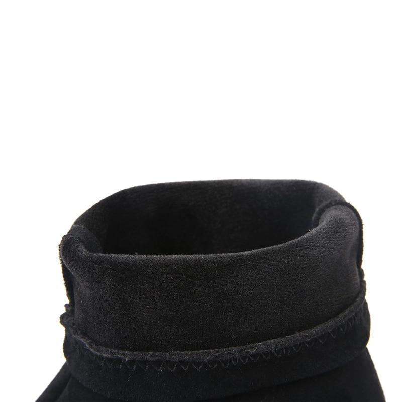 D'hiver Med Martins Chaudes marron Courte Chaussures Taille Chaussette Élastique Cheville 45 5 Plus Dame Talons Noir 5 Daim Cm Bottes La Femmes Hauts 2018 qOnfCxw7