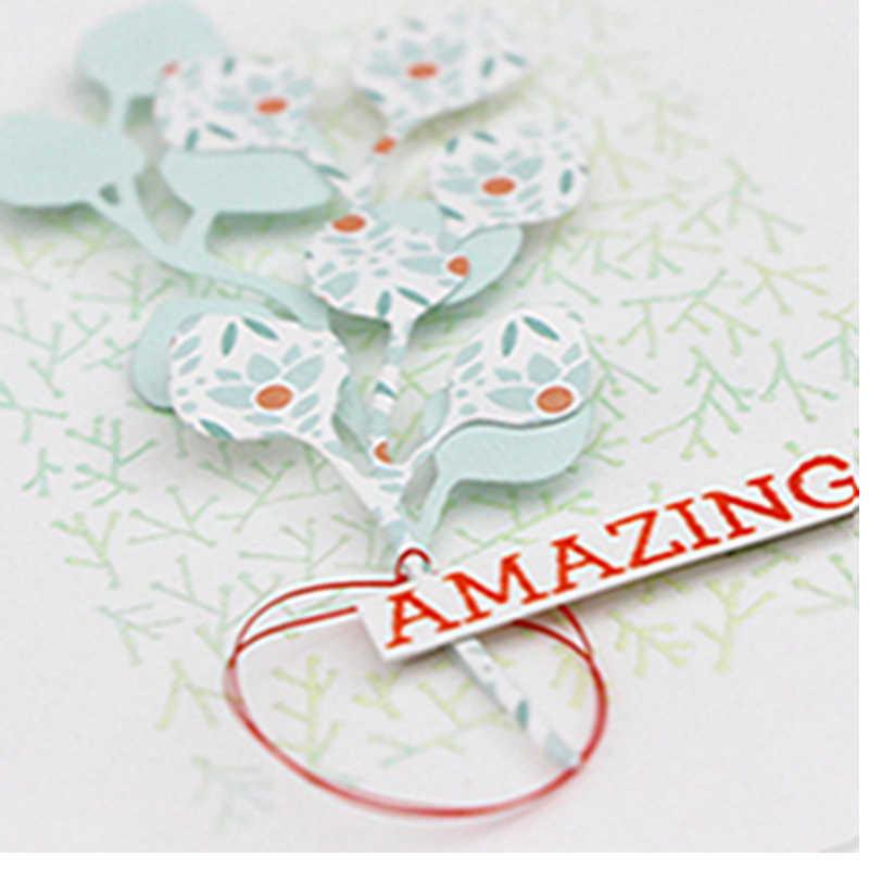 Эвкалиптовая ветка, листья, металлические режущие формы для рукоделия, скрапбукинг, тиснение, изготовление бумажных открыток, принадлежности для рукоделия, новейшая модель 2019