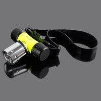 Underwater Headlight CREE XML T6 Headlamp LED Waterproof 100m Swimming Diving Headlight Dive Head Light Torch Lamp