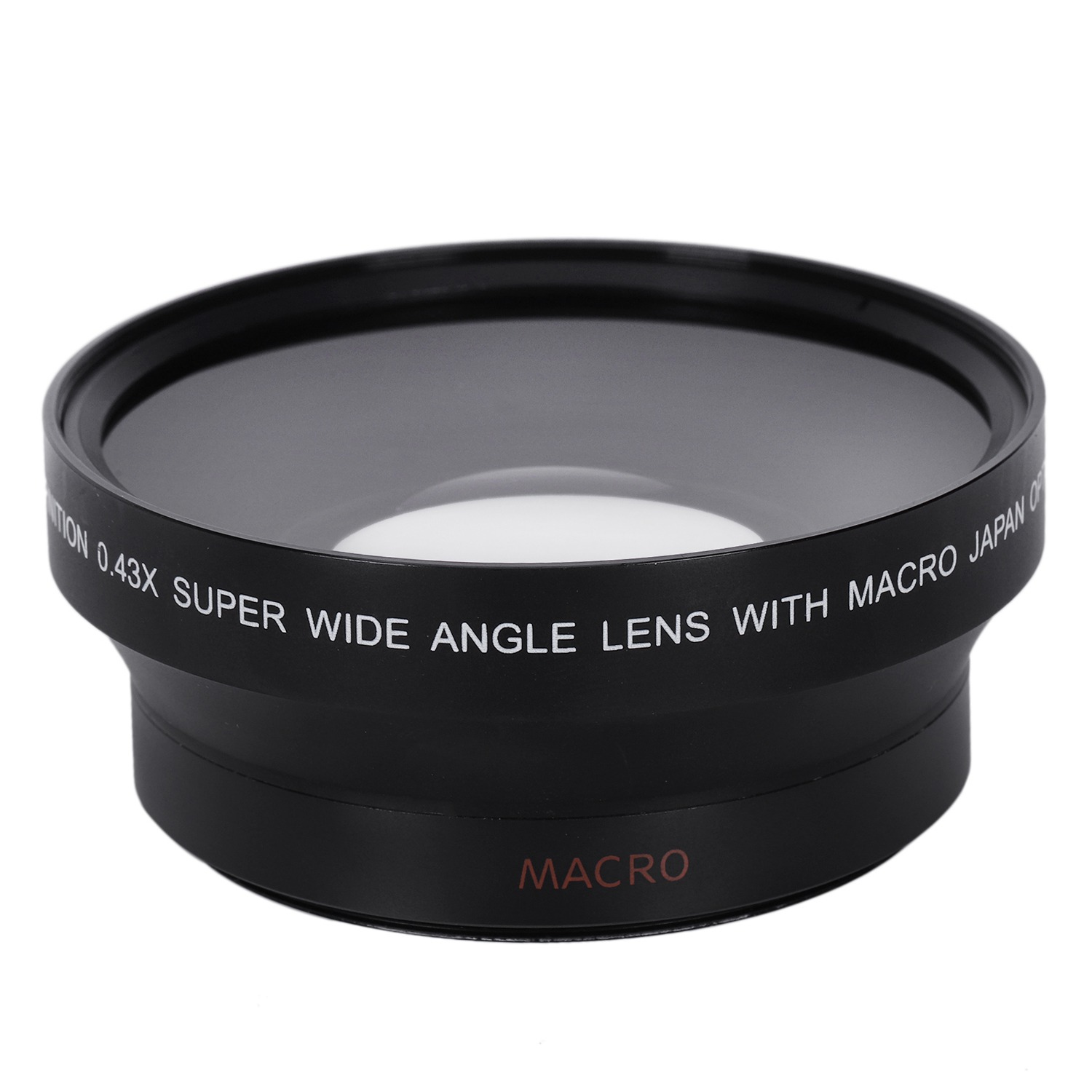 67MM 0.43X Wide Angle Macro Lens with Macro for Nikon D200 D100 D2H D80 D50 D70 D70S D90 Canon 550D 600D 650D 1100D 5DII 7DII
