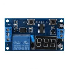 цена на VBESTLIFE DC 12V Cycle Delay Timer Switch Adjustable Relay Module Board Infinite Loop with LED Display