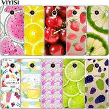 VIYISI Colorful Fruit For Meizu U20 10 M6 5 Note M5S 5C M3s 3Note Pro6  Soft TPU Phone Case Shell Coque