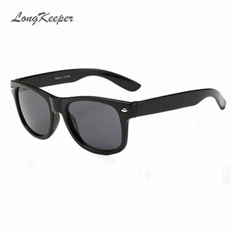 LongKeeper Cool Sunglasses For Kids Brand Design Sun Glasses For Children Boys Girls Sunglass UV 400 Protection Rivet Gafas