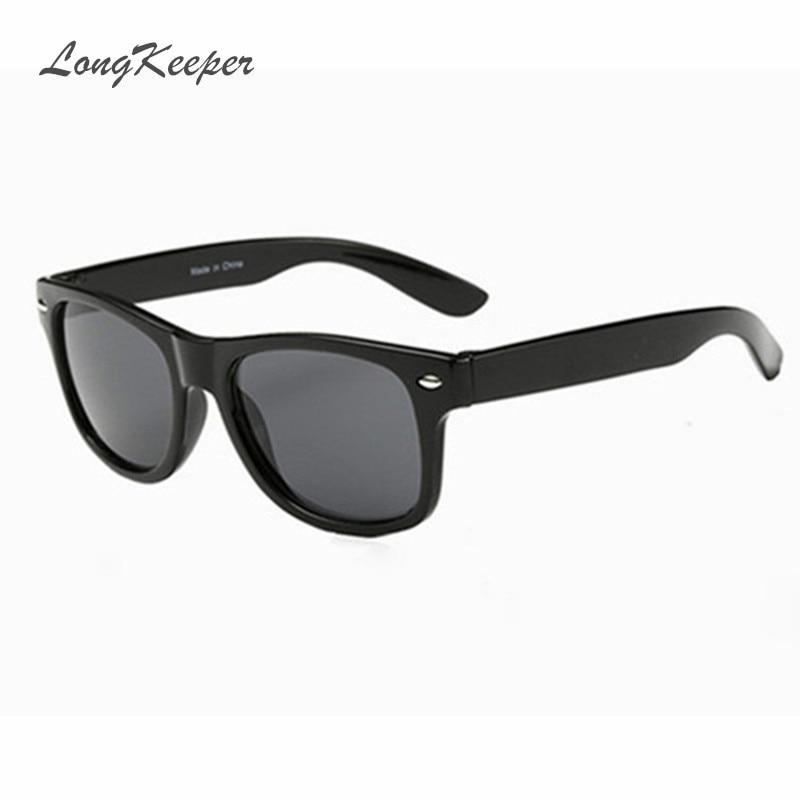 LongKeeper Cool Sunglasses For Kids Brand Design Sun Glasses For Children Boys Girls Sunglass UV 400 Protection Rivet Gafas