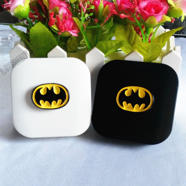 f0de3386a78 LIUSVENTINA DIY resin batman contact lens case for eyes contact lenses box  for glasses spectacle case