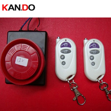 2 remote controllers 12V Anti-Theft 110db Vibration alarm,Motorcycle Scooter alarm motor bike alarm,motorbike alarm