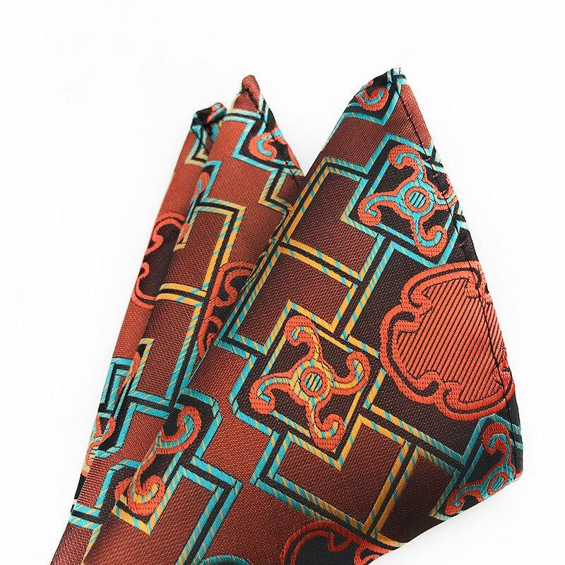 2019 Variety of Trendy Men Handkerchief Pocket Hanky Pringting Silk Pocket Squared Handkerchief Paisley Cashew Ties Cocktail in Men 39 s Ties amp Handkerchiefs from Apparel Accessories