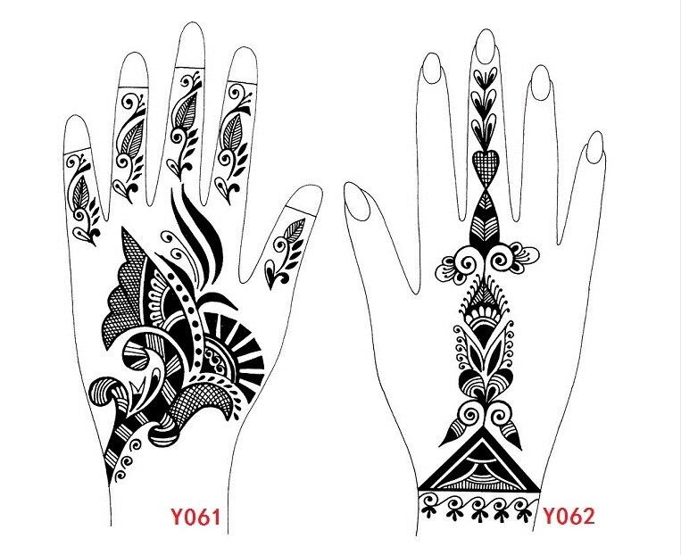 Pintura Gena Para Tatuajes. Henna Para Tatuajes Temporales Set ...