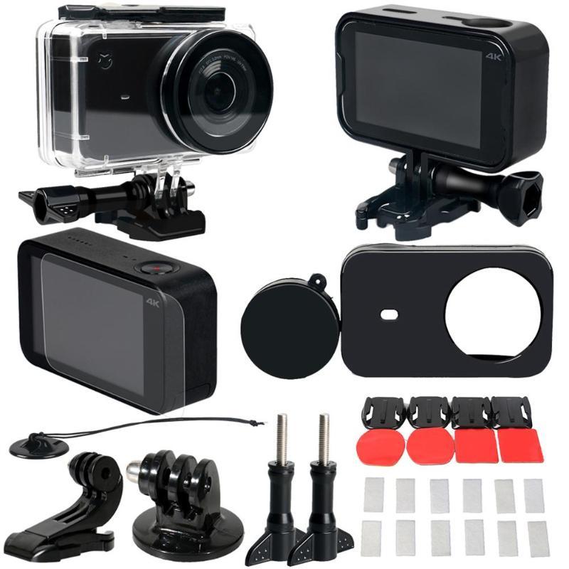 45M Underwater Waterproof Case Cover Protective Frame Lens Cap Shell Film Adapter Protector for Xiaomi Mijia Action Camera крем гель для проблемной и жирной кожи матирующий эффект 50 мл