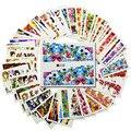 DOCE TENDÊNCIA 48 Folhas Flor/Senhora Água Nail Stickers Transferência de Água Decalques Da Arte Do Prego Beleza Completa Wraps Manicure Decor A145-192