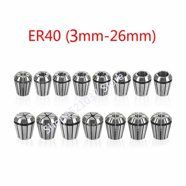 Набор Колец ER40, 24 шт., от 3 мм до 26 мм