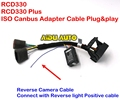 RCD330 Plus Plug&Play ISO Quadlock Adapter Cable w/ CANBUS Decoder Simulator For VW Golf VI Jetta 5 6 MK5 MK6 Passat B6 Polo