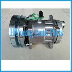 Wysokiej jakości Sd 7H15 SD7H15 1065122 4479 8109 U4604 sprężarki ac dla Caterpillar|Silniki do dmuchaw|Samochody i motocykle -