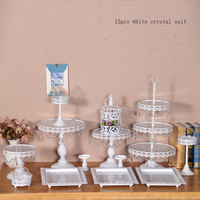 13 Pcs Cupcake Stand Children Party Tea Room Wedding Party Supplies