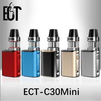 2019 Original E-cigarette box mod ECT C30 mini battery with Kenjoy Met Atomizer 2ml ect c30mini 30w vaporizer vape mod kit цена 2017