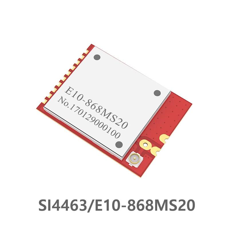 SI4463 868MHz 200mW E10-868MS20 Long Distance 20dBm 100mW SPI SMD Rf Wireless Module