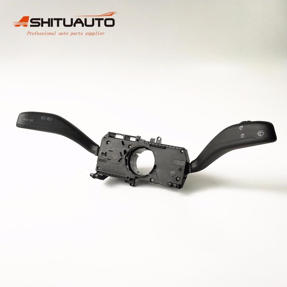 AshituAuto haute qualité combinaison interrupteur clignotant interrupteur essuie-glace pour VW Polo OEM # 6Q 0953 503