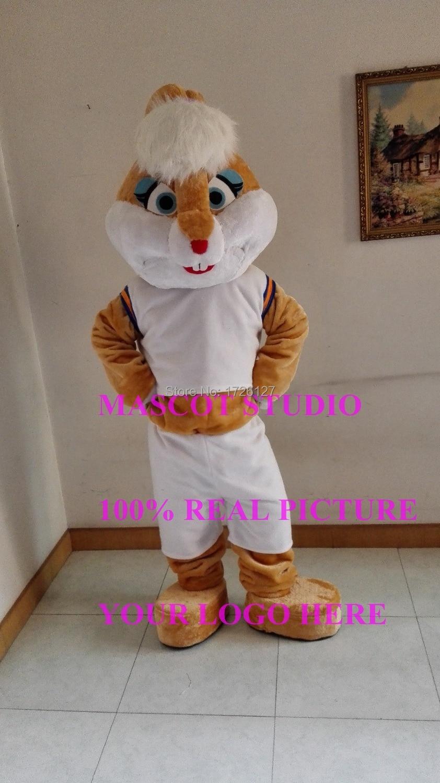 online shop mascot lola bunny mascot costume cartoon anime cartoon