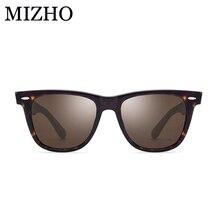 MIZHO Brand Designers Boutique Luxury Acetate Sunglasses Women Polarized Original With BOX High Quality Polaroid Eyewear Men