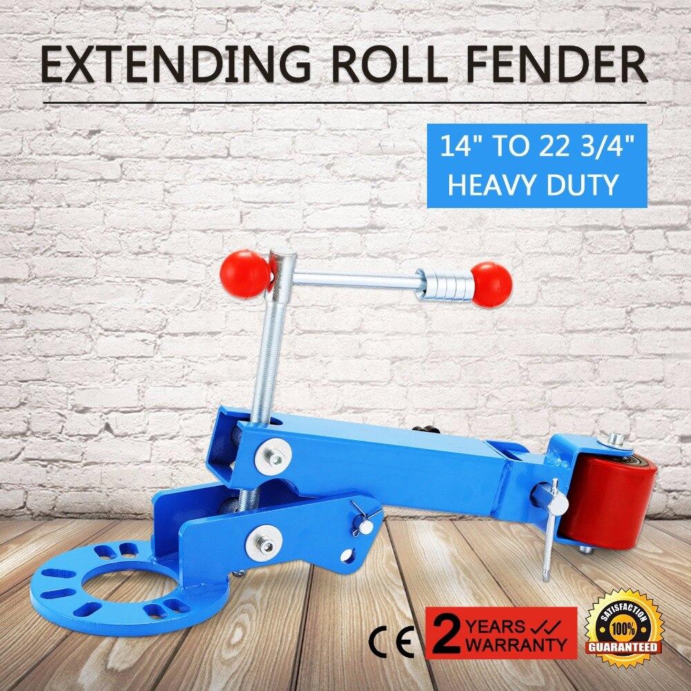 Heavy Duty Roll Fender Reforming Extending Tool Wheel Arch Roller Flaring Former ROLLER FENDER EXTENDING REFORMING KIT