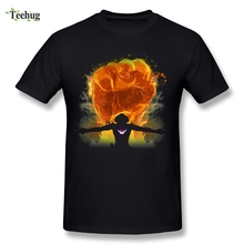 One Piece Ace T Shirt Hot Sale White Beard Homme Tees Great Design T-Shirt
